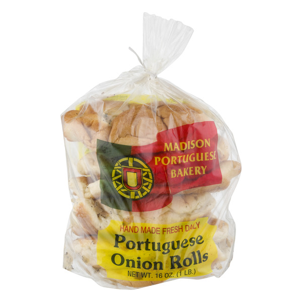 Madison Portuguese Bakery Portuguese Onion Rolls - 6 ct