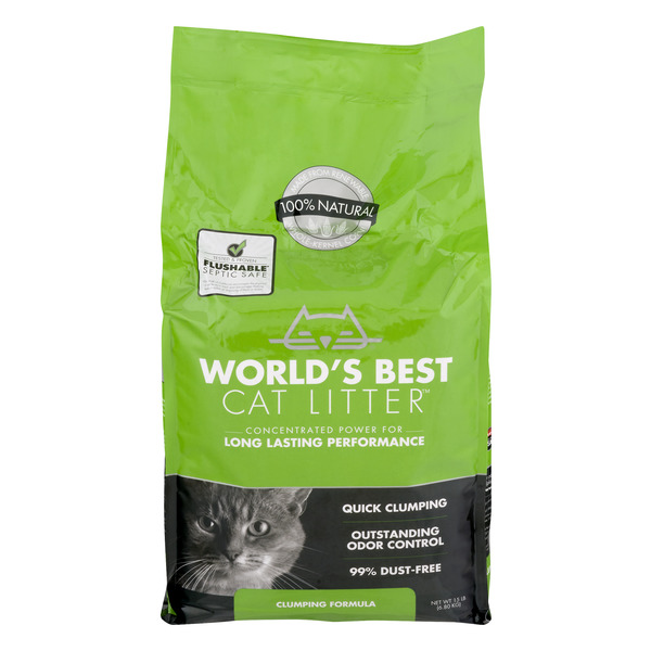 World's Best Cat Litter 100% Natural