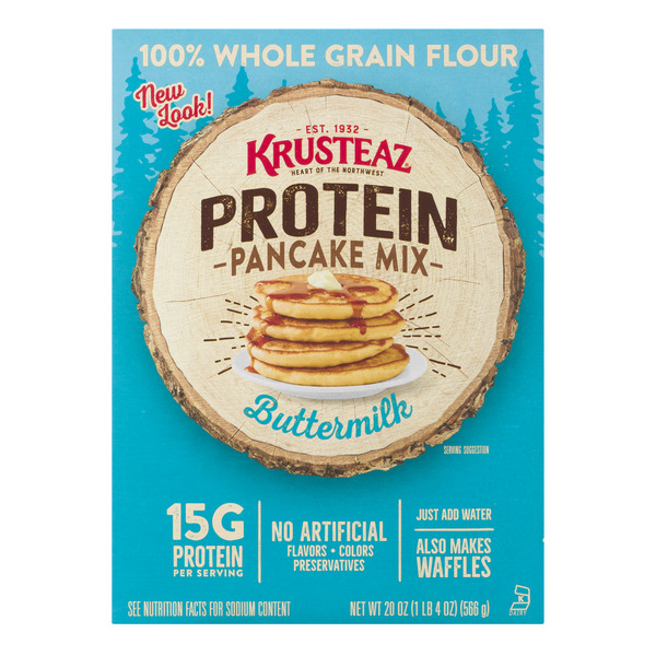 Krusteaz Protein Pancake Mix Buttermilk