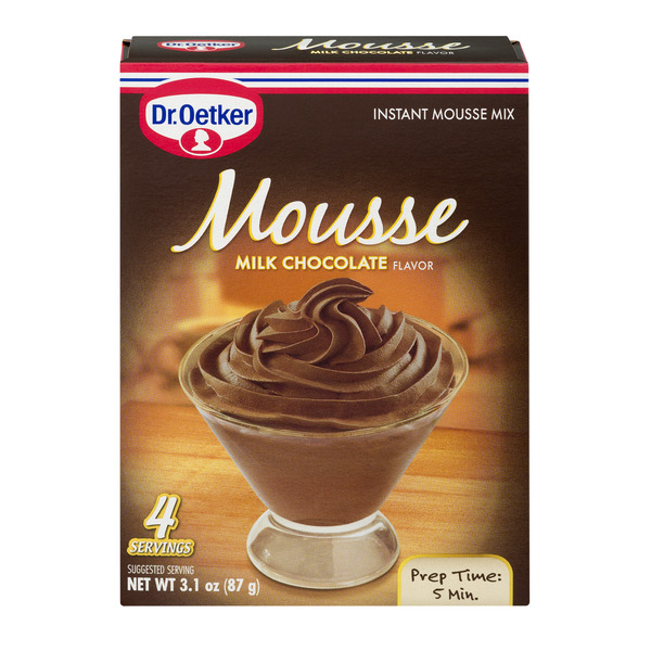 Dr. Oetker Instant Mousse Mix Milk Chocolate