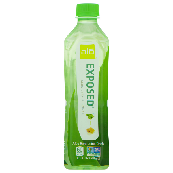 Alo Exposed Original & Honey Aloe Vera Juice Drink