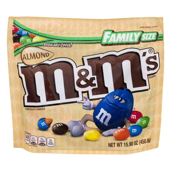 M&M's Almond Chocolate Candies Family Size