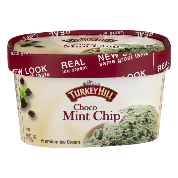 Turkey Hill Premium Ice Cream Choco Mint Chip