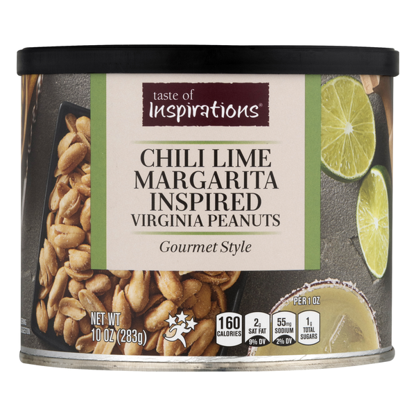 Taste of Inspirations Virginia Peanuts Chili Lime Margarita Inspired