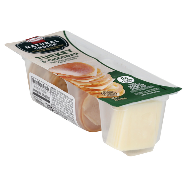 Hormel Natural Choice Turkey & Cheddar & Crackers