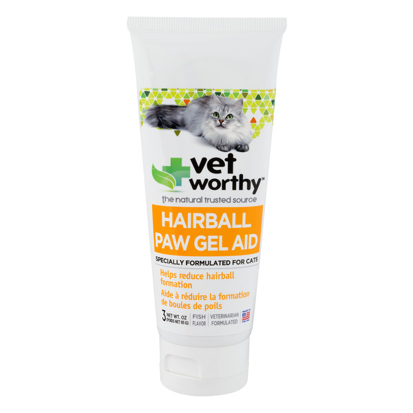 Vet Worthy Paw Gel Aid Hairball