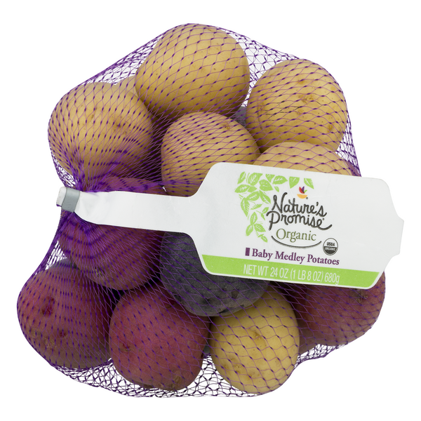 Nature's Promise Organic Baby Potatoes Medley