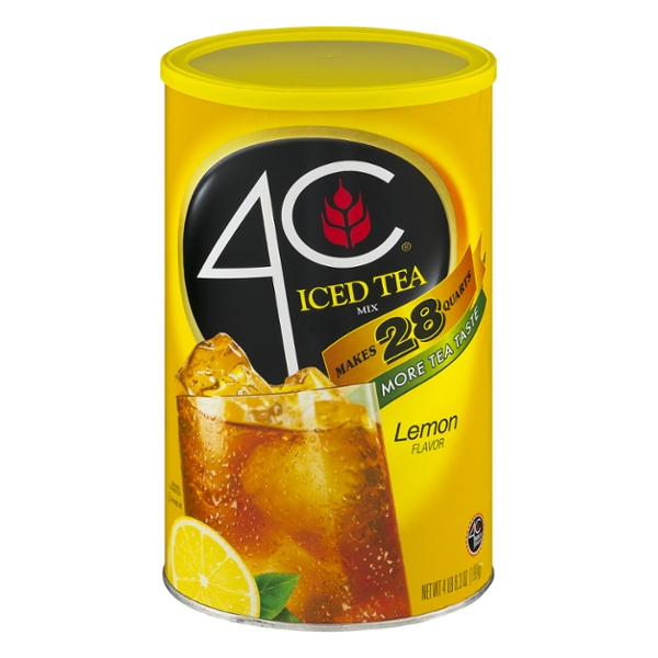 4C Iced Tea Mix Lemon Flavor