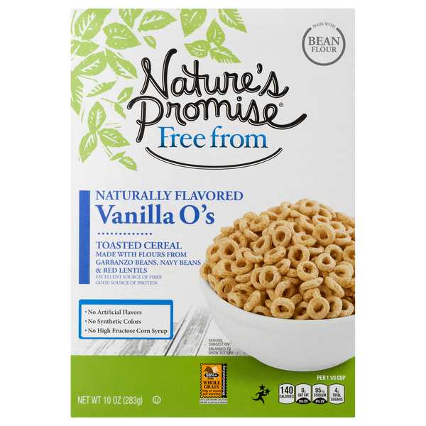 Nature's Promise Free from Vanilla O's Toasted Cereal
