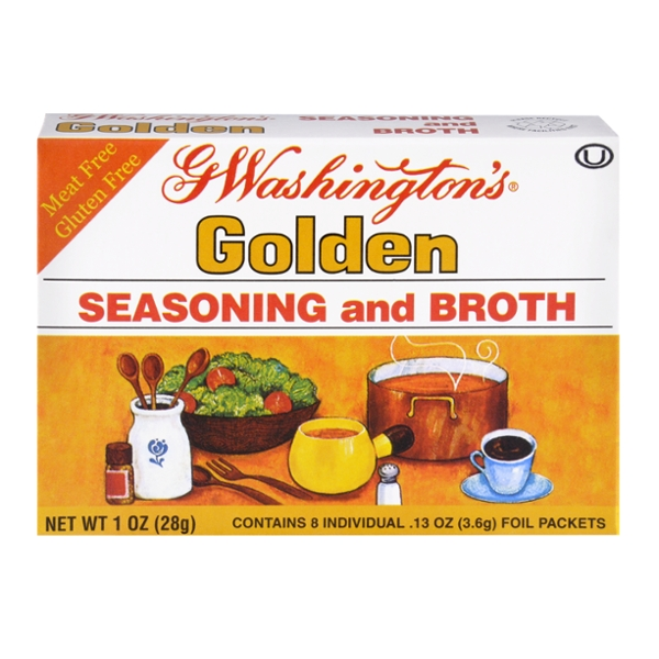 G. Washington's Golden Seasoning & Broth Packets - 8 ct