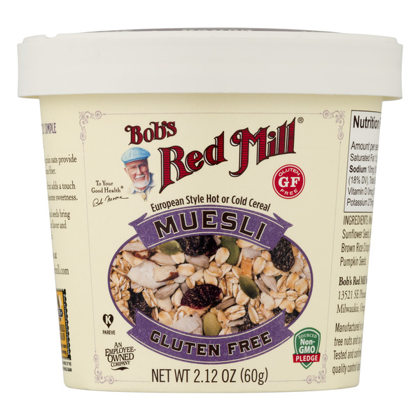 Bob's Red Mill Muesli European Style Hot or Cold Cereal Gluten Free
