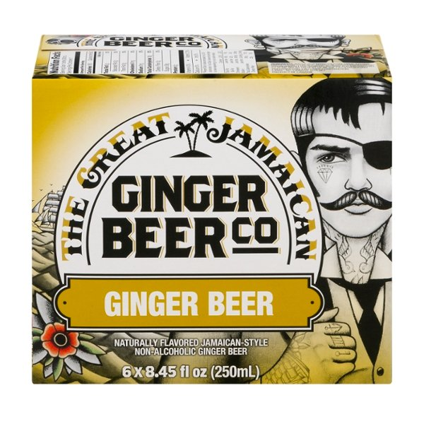 The Great Jamaican Ginger Beer Co Ginger Beer - 6 pk