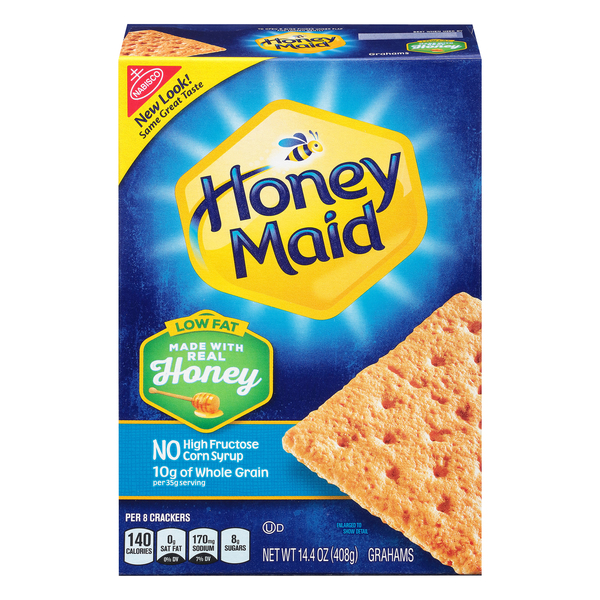 Nabisco Honey Maid Grahams Honey Low Fat