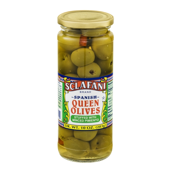 Sclafani Queen Olives Stuffed