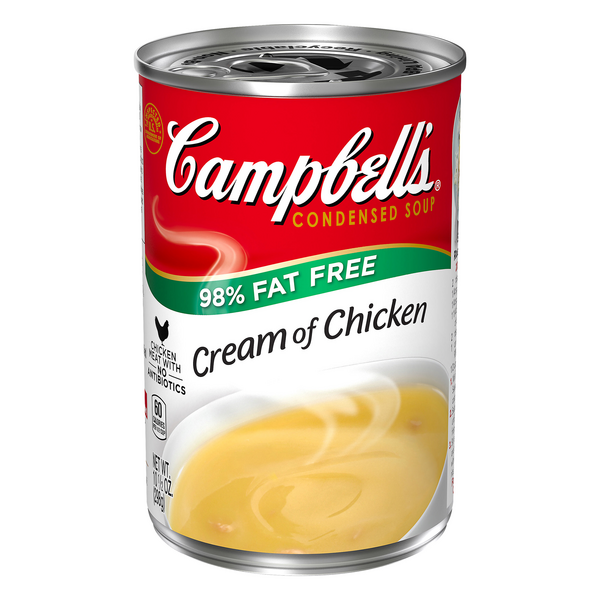 Campbell's Condensed Cream of Chicken Soup 98% Fat Free