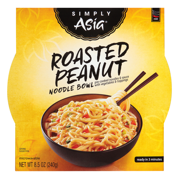 Simply Asia Noodle Bowl Roasted Peanut Mild