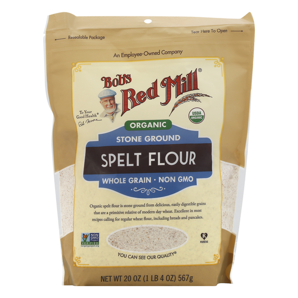 Bob's Red Mill Spelt Flour Stone Ground Organic