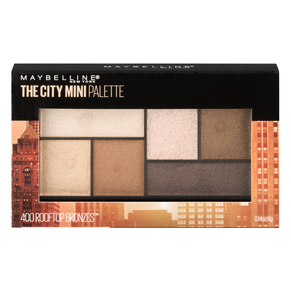 Maybelline The City Mini Palette Eyeshadow Roof Top Bronzes 400
