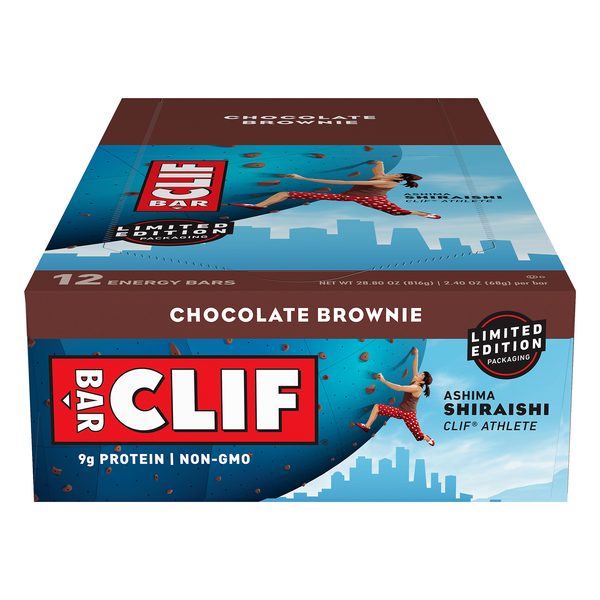 Clif Energy Bars Chocolate Brownie - 12 ct