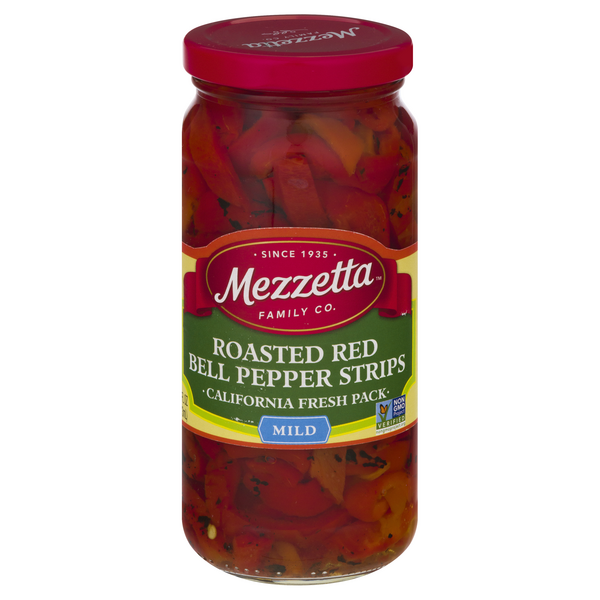 Mezzetta Deli-Sliced Roasted Bell Pepper Strips