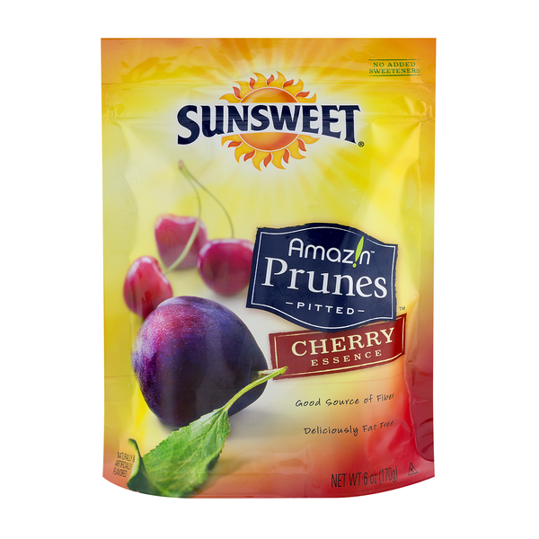 Sunsweet Amazin Prunes Pitted Cherry Essence