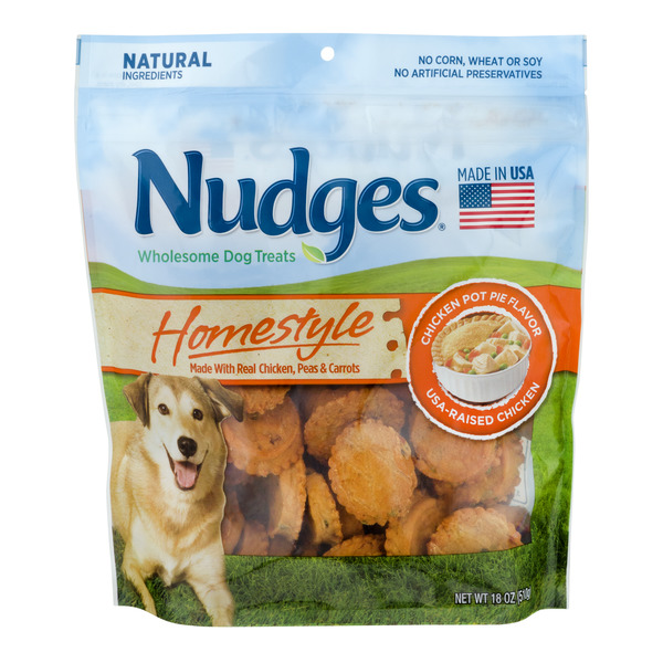 Nudges Wholesome Dog Treats Homestyle Chicken Pot Pie