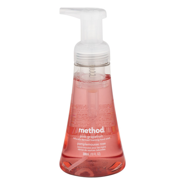 Method Foaming Hand Wash Pink Grapefruit Pump
