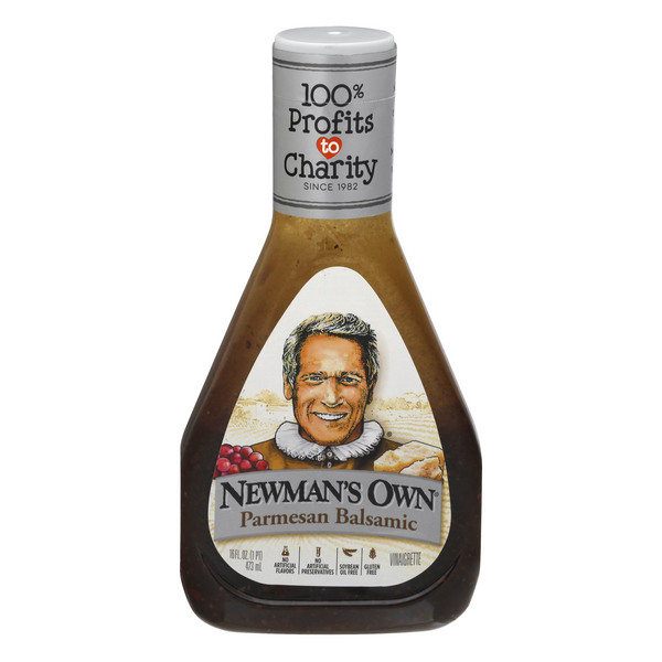 Newman's Own Parmesan Balsamic Vinaigrette Dressing