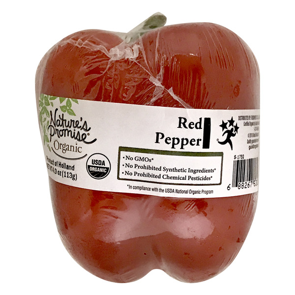 Nature's Promise Organic Bell Pepper Red