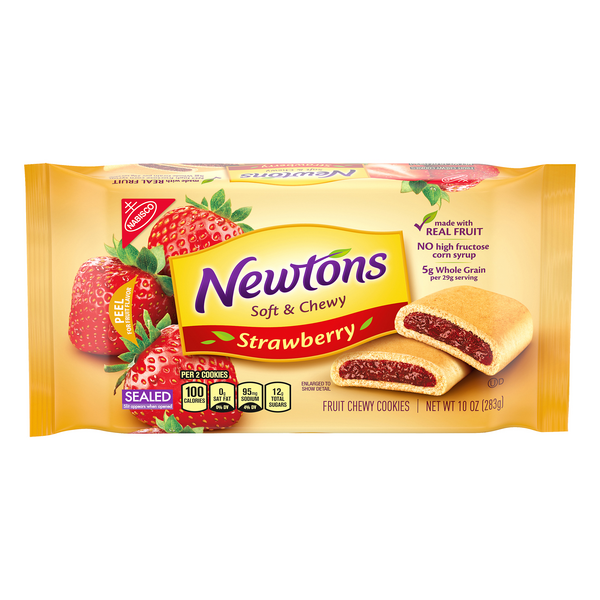 Nabisco Newtons Chewy Cookies Strawberry