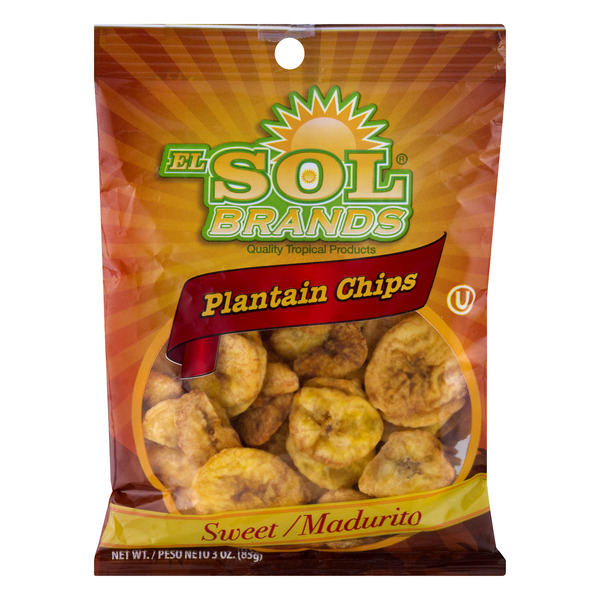 El Sol Brands Plantain Chips Sweet
